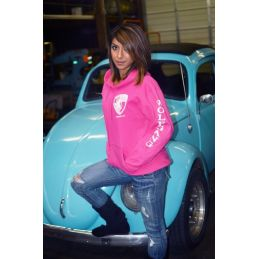 Women's Hot Pink Pullover