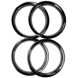 "Wheel Beauty Rings; 14"" Bus stock rims (4)"
