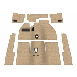 Carpet Kits - Deluxe w/foot...