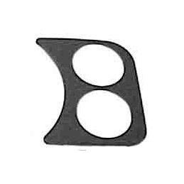 Dash Panels For VDO Gauges; Black 2 gauge