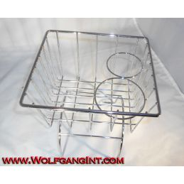 Console Basket - Chrome
