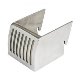 Polished Aluminum Cup Holder
