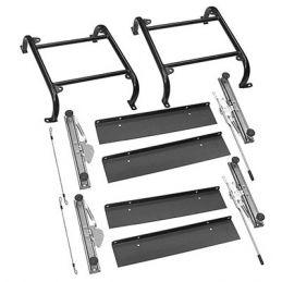 Super Seats; Seat mount kit slide/slide (pr)
