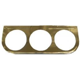 "VDO Mounting Brackets; Metal 3 Gauge 2 1/16"" CHR"