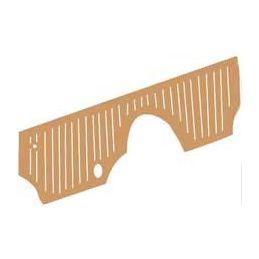 Firewall Rubber Mat, Brown