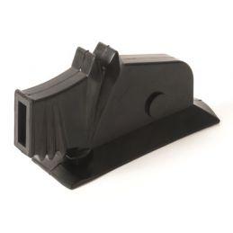 Black Emergency Brake Boot