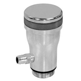 Billet Oil Filler and Cap; Smooth flow oil filter w/smooth cap
