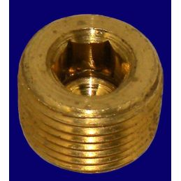 "Oil Fittings Brass; Oil passage plug 3/8"" pipe"
