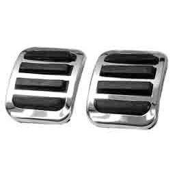 Custom Pedal Pad Covers; Brake & Clutch