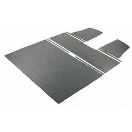 Roof Lining, Grey, Double Cab