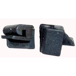 Convertible Front & Rear Wedges; Quarter front (pr)