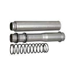 Collapsible Push Rod Tube