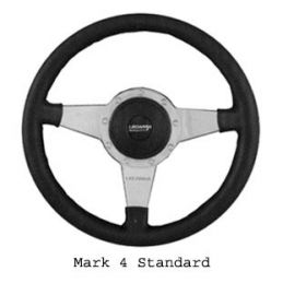 Custom Steering Wheels; Mark 4 Standard 14""