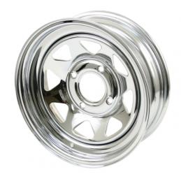 Steel Wheels - 15 x 8 Chrome