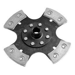 Feramic Clutch Disc; 200mm 4 puck
