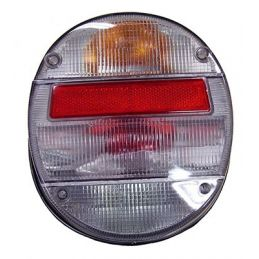 Clear Tail Light Assembly; Left
