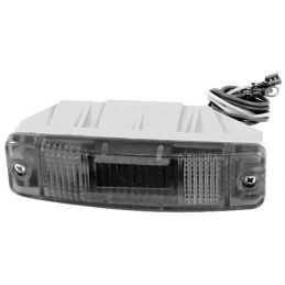 Front Bumber With Turn Signals; Turn signal lens and buckets for 1707103 w/o blub(Ea)