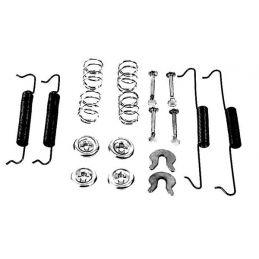 Brake Hardware Kits; Rear