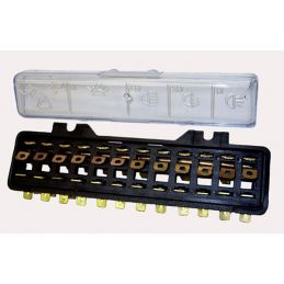 Fuse Boxes; 12 panel box