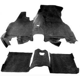 Front & Rear Floor Mats; Front and rear