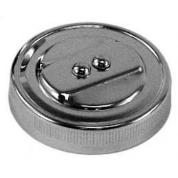 Chrome Oil Cap; Stock