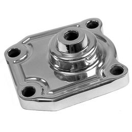 Billet Steering Box Cover; Cover for stock box
