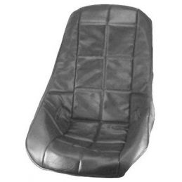 Poly Seats; Cover low back black