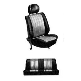 Custom Seat Cover Sets; Full set