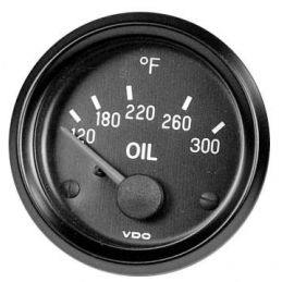 VDO Performance Instruments - Cockpit; *Oil temperature 300 DEGREE 2 1/16""