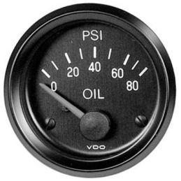 "VDO Performance Instruments - Cockpit; *Oil pressure 80 PSI 2 1/16"""