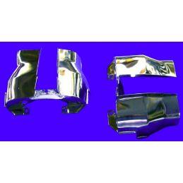 Cylinder Head Shrouds; Chrome