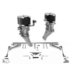 Weber Dual Carburetor Kits; 44 IDF dual kit