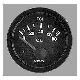 VDO Performance Instruments - Vision; *Oil pressure 80 PSI 2 1/16""