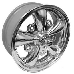 Empi 5-spoke Wheels; Polished
