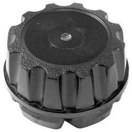 Empi 5-spoke Wheels; Replacement cap black