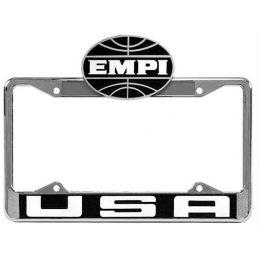 Empi License Plate Frames; Front