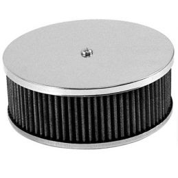 """Round Air Cleaners; 6-3/8""""x3 12"""" tall"""