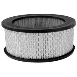 """Round Air Cleaners; Replacement element 5-1/2x3"""" tall"""