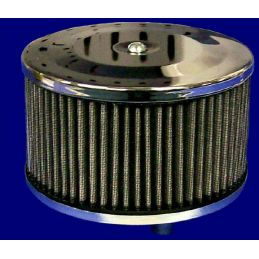 "Round Air Cleaners; 5-1/2x4"" tall"