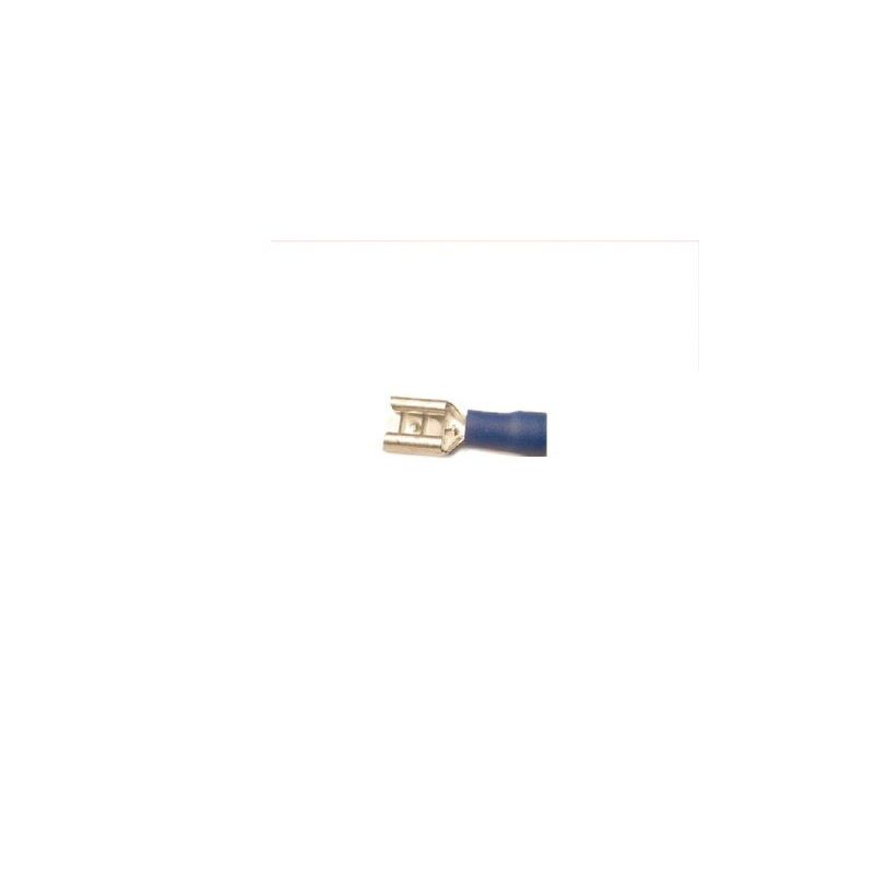 Electrical Ends & Connections; Female end blue - 12 gauge wire