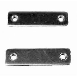 Deck Lid Threaded Hinge Mounts; Pair