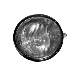 Fluted Headlight Glass; Pair