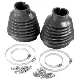 Swing Axle Boot Kits; Black