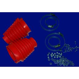 Swing Axle Boot Kits; Red