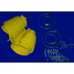 Swing Axle Boot Kits; Yellow