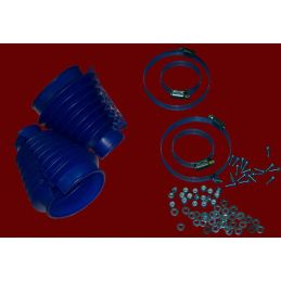 Swing Axle Boot Kits; Blue