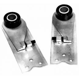 "Adjustable Spring Plates; IRS plates for 21 3/4"" bar (pr)"