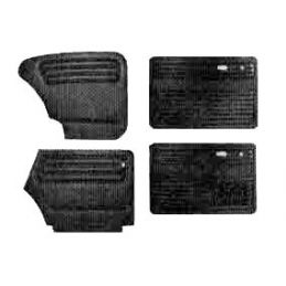 Door Panels; Full set w/out pockets
