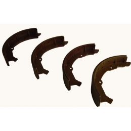 Front Brake Shoe Sets; New