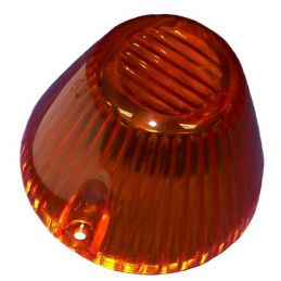 Front Turn Signal Lenses; Amber